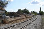 Przyszły peron na Zakrzowie