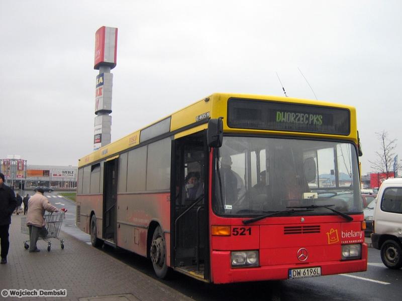 Mercedes O405N #521