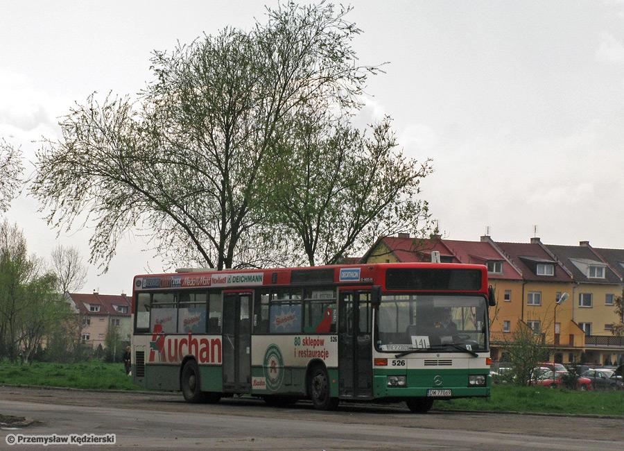 Mercedes O405N #526