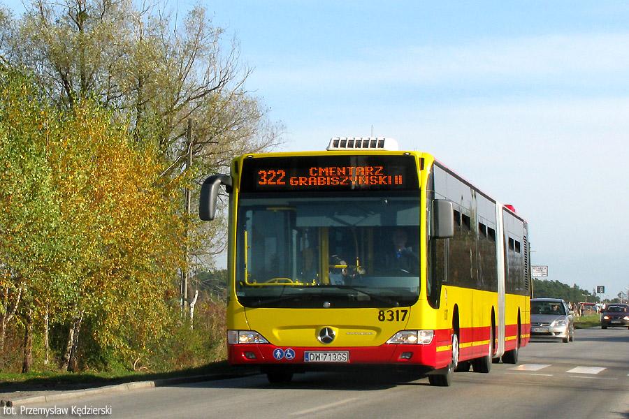 Mercedes Citaro G #8317