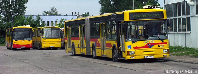 24.05.2008, Jelcz M181M na zaj. IX Obornicka. fot. Przemysław Kędzierski.