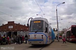 22.09.2012, zajezdnia Borek. Škoda 19T #3118