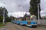 22.09.2012, zajezdnia Borek. Dwukierunkowy tramwaj zbudowany na bazie wagonu typu 102Na - #G-089