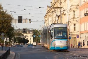 20.08.2012, Skoda na ul. Nowy Świat. fot. Wojciech Dembski