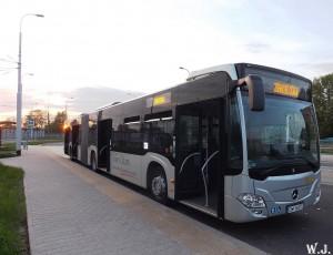 08.05.2013r. Autobus Mercedes-Benz Citaro G C2 (8342). fot. Wojciech Jóźwiszyn.
