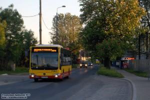18.05.2013, Wrocław ul. Sołtysowicka. Mercedes Citaro w obsłudze linii specjalnej M1 na Noc Muzeów.