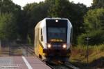 17.08.2013, Pierwoszów. SA135-007 jako przedostatni tego dnia pociąg z Trzebnicy do Wrocławia wjeżdża na najnowszy przystanek osobowy na linii kolejowej 326.