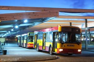 12.06.2013, Wrocław, Dworzec Centralny PKS. Do celu podróży to ten autobus jednak nie dotarł, bo po drodze urwał się pasek alternatora.