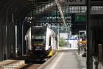 31.08.2013 |Wrocław Główny| SA134-003 odjeżdża z toru siódmego przy peronie czwartym jako pociąg osobowy do Jelcza-Laskowic.