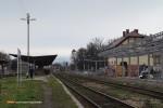 15.12.2013, Świdnica Miasto.  Ogólny widok na stację.