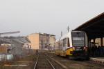 15.12.2013, Świdnica Miasto. SA134-025 przed chwilą przyjechał z Wrocławia i za ok. 20 minut wróci w drogę powrotną do Wrocławia.