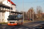 07.01.2013, Wrocław ul. Dobroszycka. No i dowozówki wystartowały.