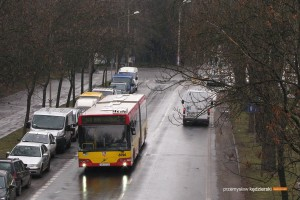 09.01.2014, Wrocław ul. Wróblewskiego. Volvo na linii 146.