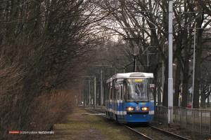 09.01.2014, Wrocław ul. Olszewskiego.