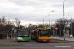 09.01.2014, Wrocław, pętla Bartoszowice. Mały przegląd taboru na linii 701.