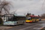 10.01.2014, Wrocław, ul. Królewska. Solaris na nowej linii na Zakrzowie.