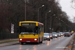 10.01.2014, Wrocław, ul. Mickiewicza. Jelcz na linii 115.