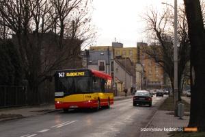 Wizualizacja Solarisów Urbino 12 w barwach MPK Wrocław. Zdjęcie i wykonanie wizualizacji: Przemysław Kędzierski / portal Transportnews.TK