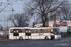 5.03.2014, Wrocław ul. Żmigrodzka. Czeskie autobusy szturmem zawojowały linie strefowe we Wrocławiu. Można je spotkać we wszystkich gminach, do których dojeżdżają linie strefowe organizowane przez Gminę Wrocław.
