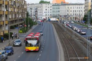 29.04.2014, Wrocław ul. Grabiszyńska. Volvo na linii 704.