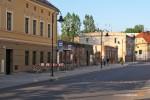 29.04.2014, ul. Krzywoustego. Z 4-miesięcznym poślizgiem, wreszcie pojawiły się wiaty przystankowe na Psim Polu.