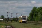 10.05.2014, |Mościcko Dzierżoniowskie| SA106 jako pociąg osobowy do Legnicy.
