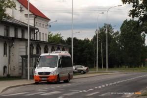 15.06.2014, Wrocław ul. Bierutowska. Autocuby City Line na linii 150L.