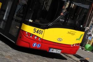 28.08.2014, Wrocław pl. Solny. Prezentacja autobusu Solaris Urbino 12.