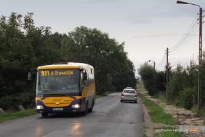 30.08.2014, Wrocław ul. Szewczenki. SOR na linii 911.