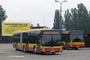 Autobusy marki MAN, którymi ITS Michalczewski obsługuje linie autobusowe w Warszawie - fot. Leszek Peczyński