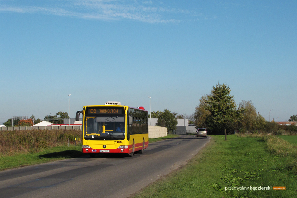 Zmiany tras linii 107, 109 i 609 od 7 września