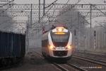 21.11.2014, |Malczyce| Impuls 31WE-001 jako pociąg osobowy z Węglińca do Wrocławia Głównego.