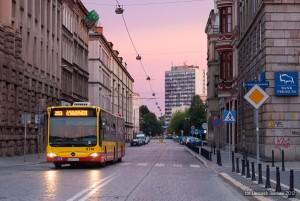 22.07.2012, Wrocław, ul. Tadeusza Kościuszki. Mercedes na linii 253. fot. Wojciech Dembski