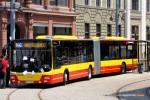 13.06.2015, Wrocław ul. Teatralna. Prezentacja autobusu MAN z ITS Michalczewski.
