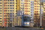 17.03.2015, Wrocław ul. Pilczycka. Skoda 19T na linii 31.