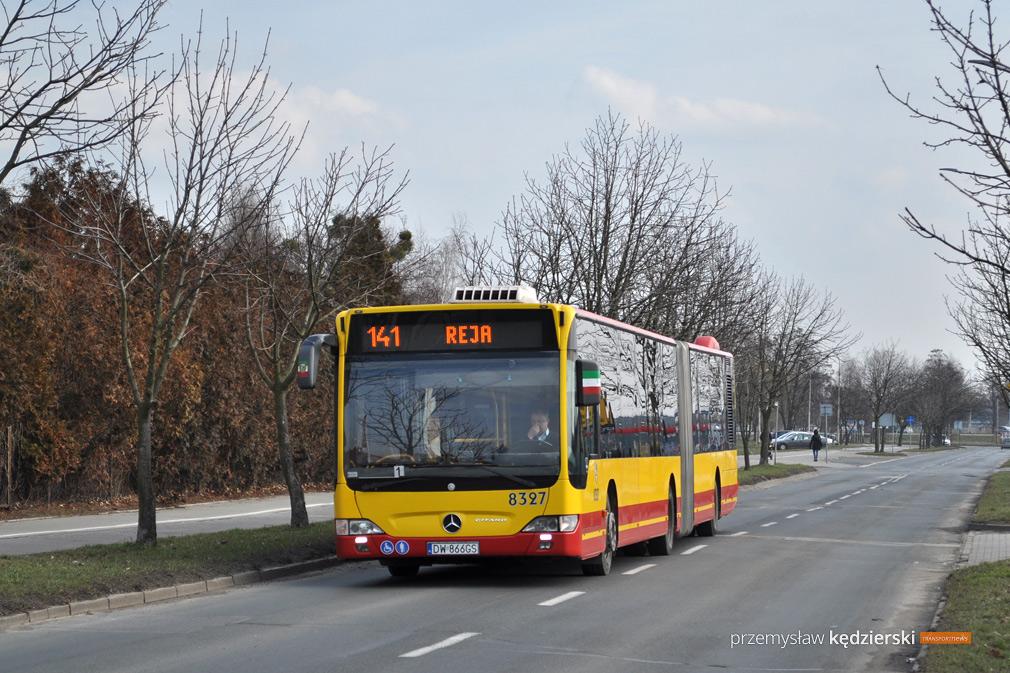 Mercedes Citaro G #8327