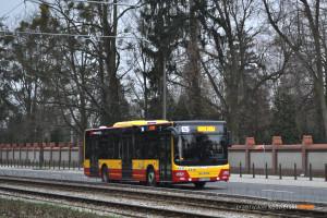 27.02.2016, Wrocław, ul. Grabiszyńska. MAN na linii 125.