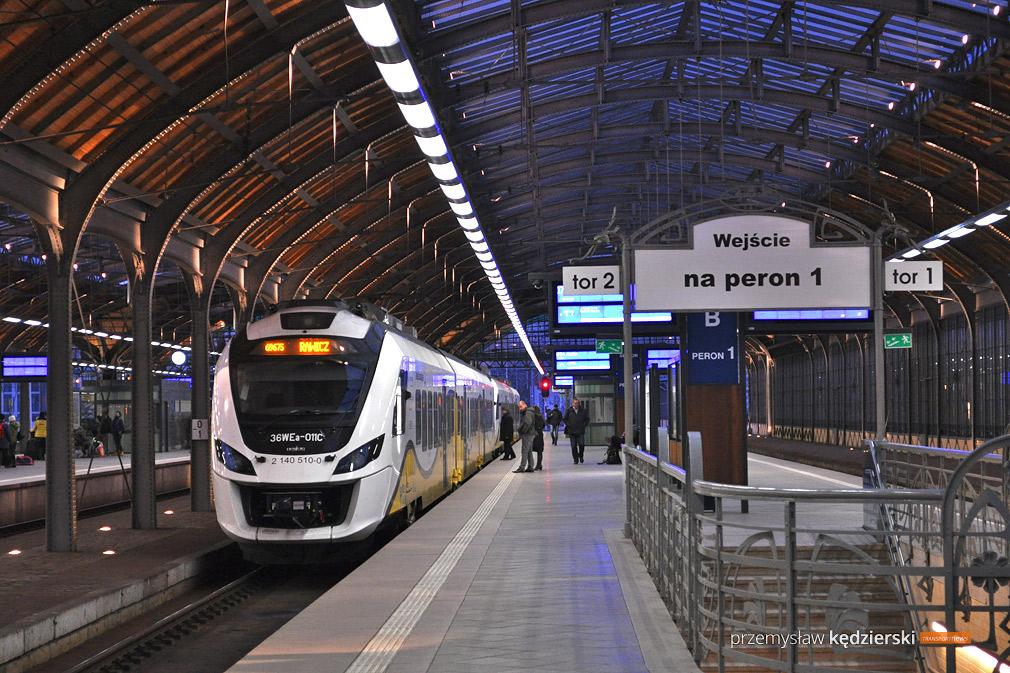 Pociągiem do Milicza i Krotoszyna dojedziemy już w grudniu