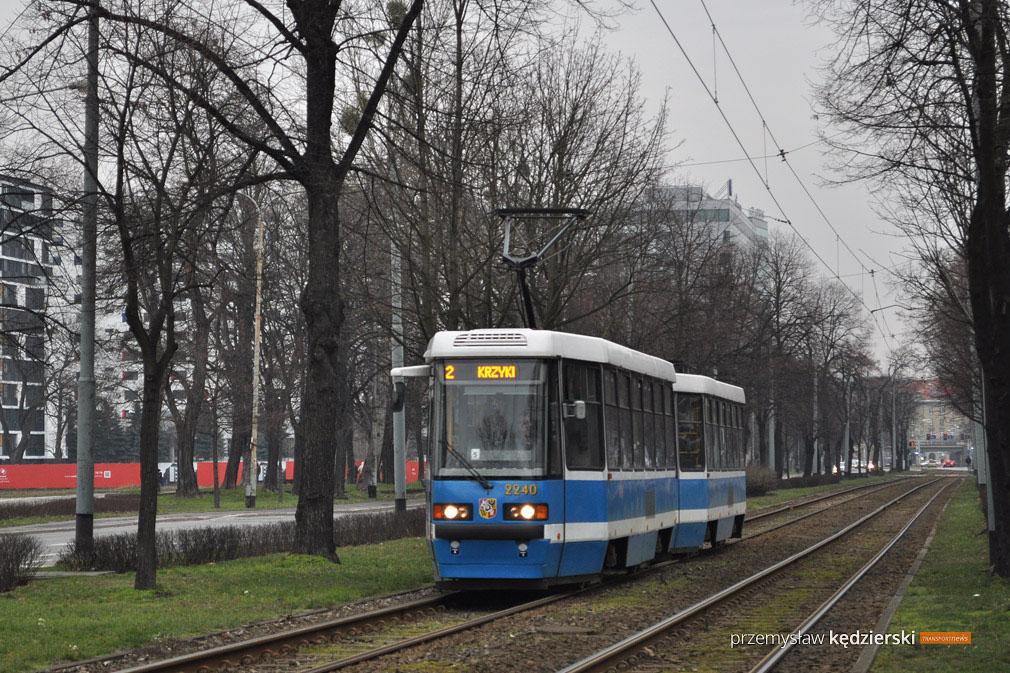Wymiana rozjazdu tramwajowego – zmiany na liniach 2,5,8,9,11 i 17