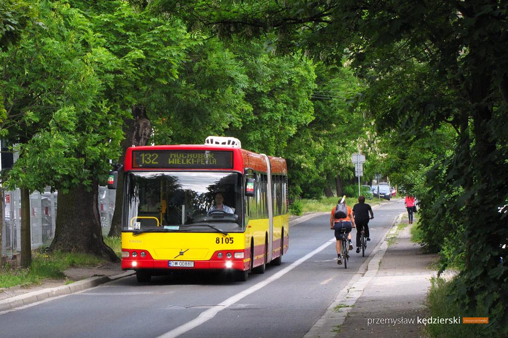Linia 132 dojedzie do sortowni Poczty Polskiej na Avicenny