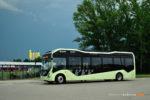 30.06.2016, Wrocław, fabryka Volvo. Autobus elektryczny Volvo ElectriCity Concept Bus.