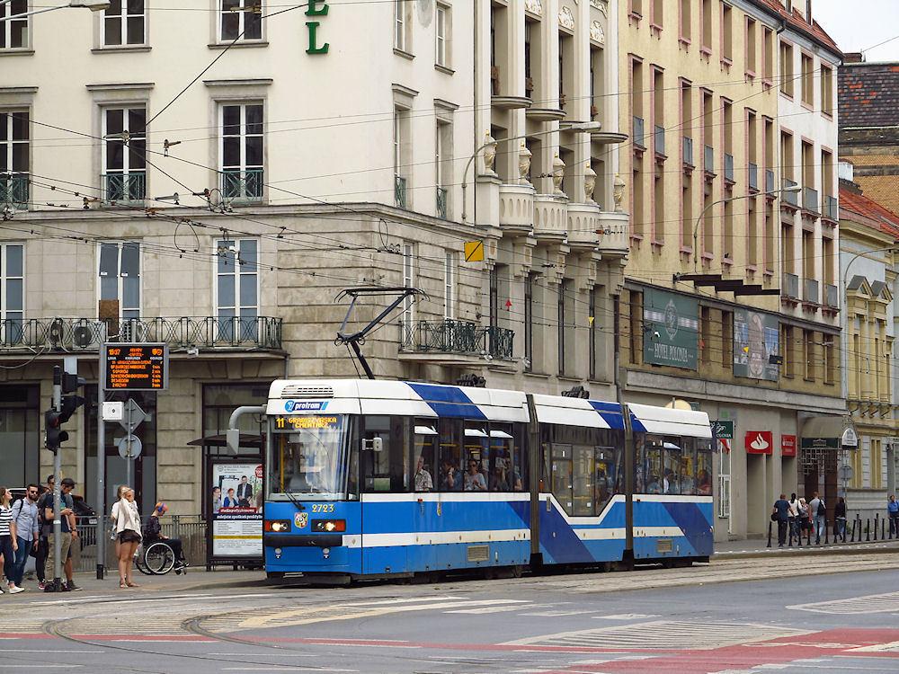 Wymiana zwrotnicy tramwajowej na Świdnickiej i Piłsudskiego