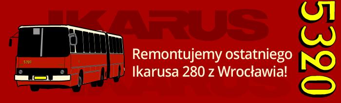Remontujemy ostatniego Ikarusa 280 z Wrocławia