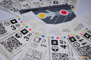 Bilety komunikacji miejskiej. fot. Transportnews