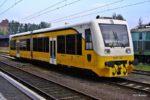 21.05.2011, Legnica. SA109-004 odstawiony na legnickim dworcu. fot. Jacek Chiżyński / Wikimedia Commons.