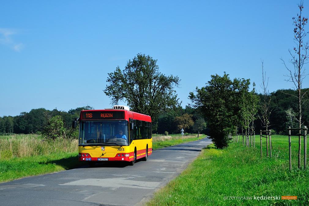 Objazdy na Osobowicach na liniach 118, 140 i 257