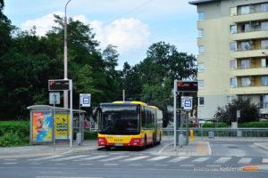 06.08.2017, Wrocław, pętla Kromera. MAN na linii 132.