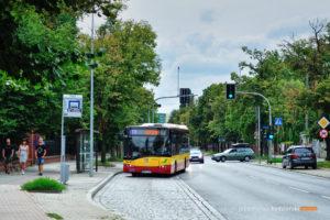 06.08.2017, Wrocław, ul. Kasprowicza. Solaris na linii 118.
