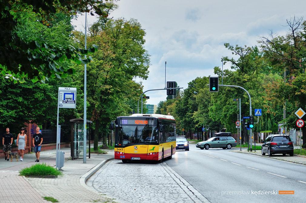 Przebudowa ulicy Berenta – zmiany tras