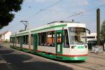 5.10.2013, Tramwaj NGT8D w Magdeburgu. fot. Chris / strassenbahn-online.de. CC/BY-SA 3.0